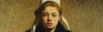 Coffee Lecture - A Young Breton Girl by Roderic O'Conor