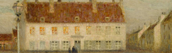 Coffee Lecture - The Village Twilight by Henri Le Sidaner
