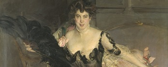 Coffee Conversation - Mrs. Lionel Philips by Jean Boldini