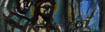 Coffee Lecture - Christ and the Soldier by Georges Rouault