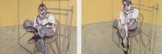 New Display of photographs of Lucian Freud from Francis Bacon's Studio