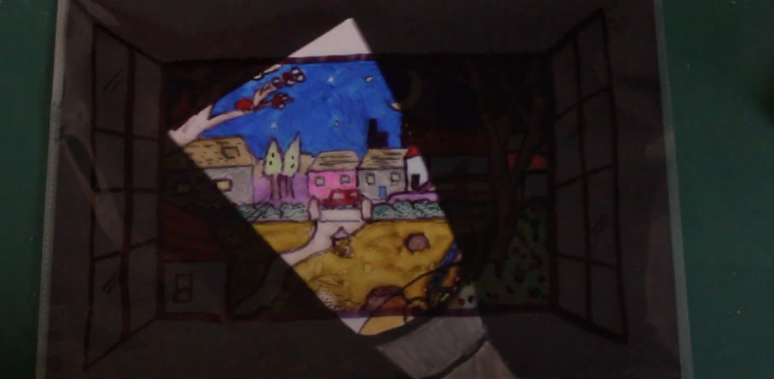 Make Your Own Paper Light: Interactive Drawing