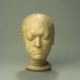 replica plaster cast life mask of William Blake (1757 - 1827). Collection Dublin City Gallery The Hugh Lane © The Estate of Francis Bacon