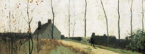 Coffee Conversation: October Morning by William Stott of Oldham