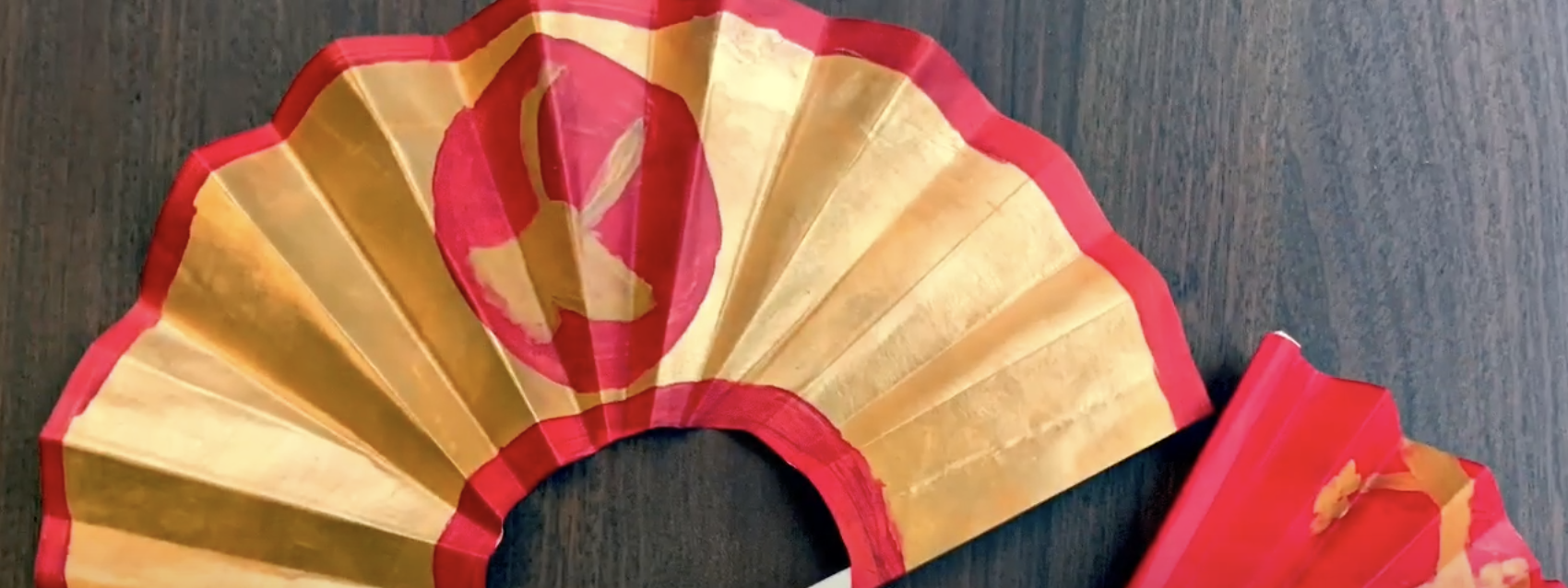 Make Your Own Fan for Lunar New Year