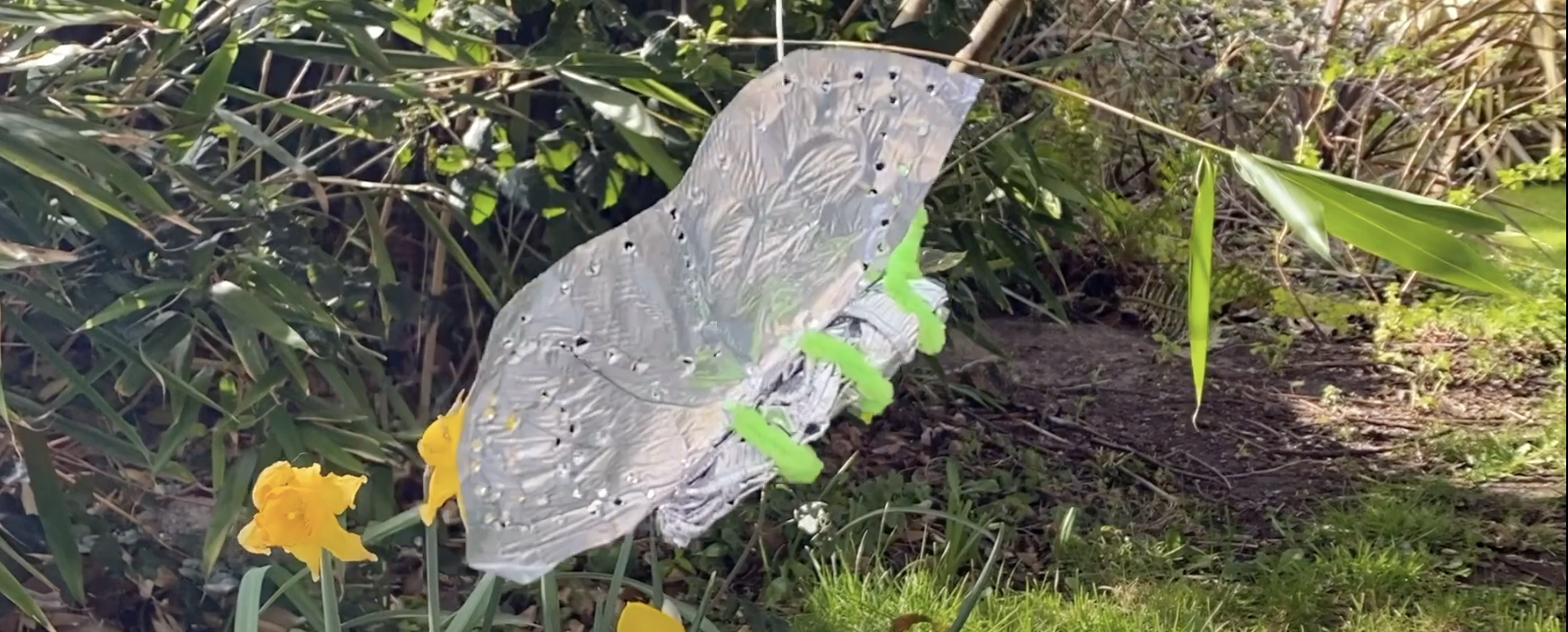 Make Your Own Tin Butterflies