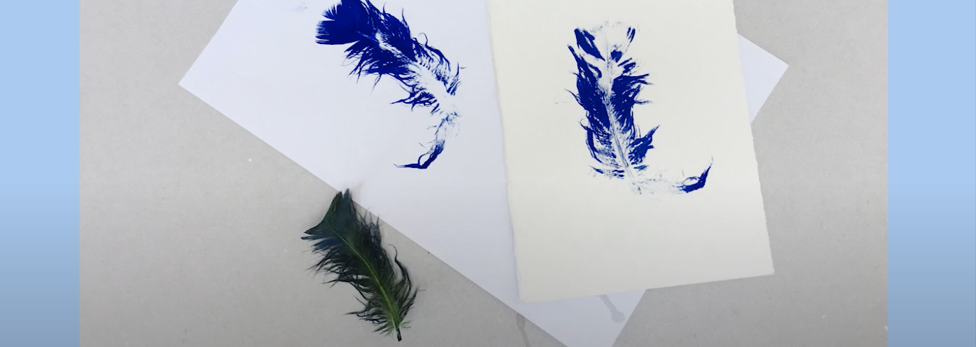 Make Your Own Print Using Found Objects