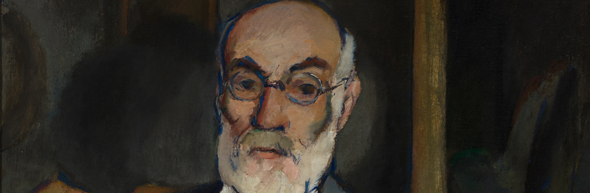 Coffee Conversation: Portrait of John Butler Yeats by Walt Kuhn